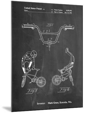 Bicycle Handlebar Art-Cole Borders-Mounted Art Print