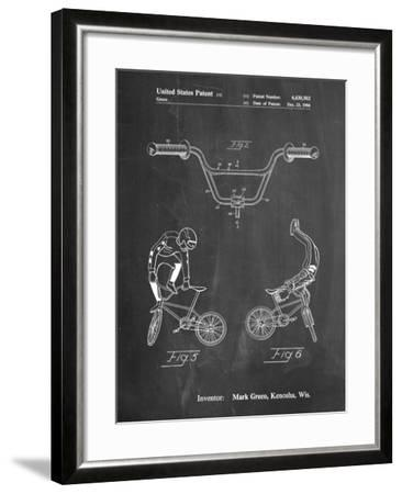 Bicycle Handlebar Art-Cole Borders-Framed Art Print