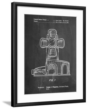 Toy Windmill-Cole Borders-Framed Art Print
