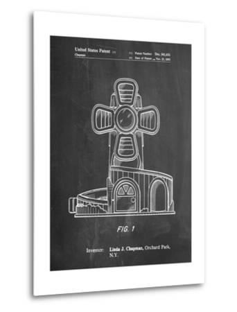 Toy Windmill-Cole Borders-Metal Print