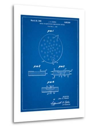 Transistor Semiconductor Patent-Cole Borders-Metal Print