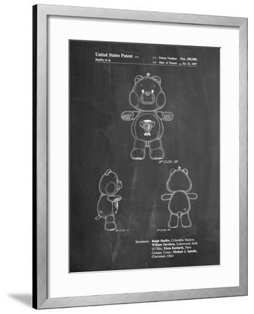 Champ Care Bear-Cole Borders-Framed Art Print