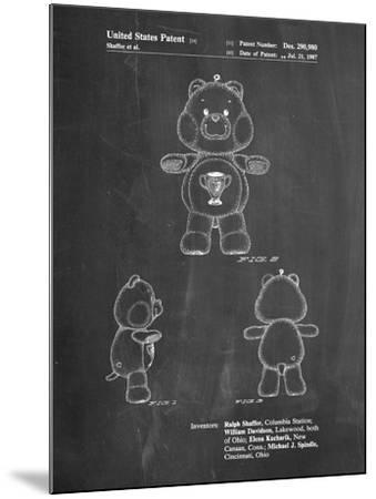 Champ Care Bear-Cole Borders-Mounted Art Print