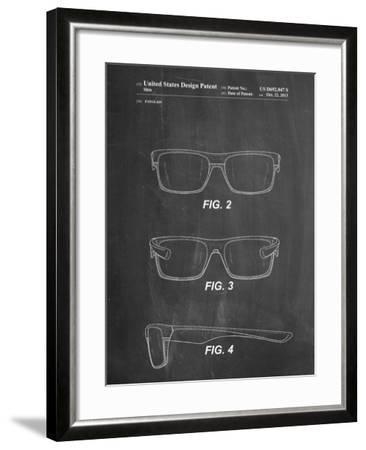 Two Face Prizm Oakley Sunglasses Patent-Cole Borders-Framed Art Print
