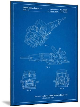 Plate Joiner Patent-Cole Borders-Mounted Art Print