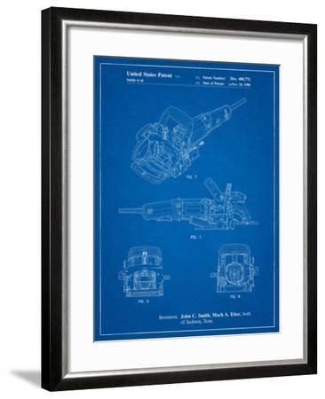 Plate Joiner Patent-Cole Borders-Framed Art Print