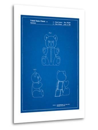Teddy Bear-Cole Borders-Metal Print
