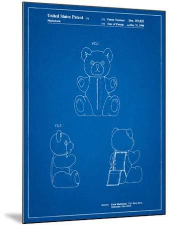 Teddy Bear-Cole Borders-Mounted Art Print