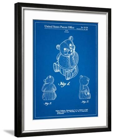 Teddy Bear-Cole Borders-Framed Art Print