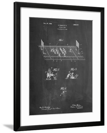 Football Board Game Patent-Cole Borders-Framed Art Print
