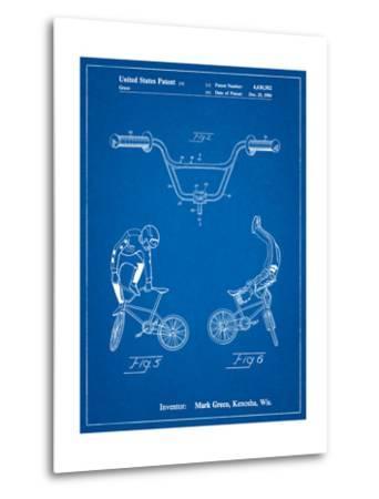 Bicycle Handlebar Art-Cole Borders-Metal Print