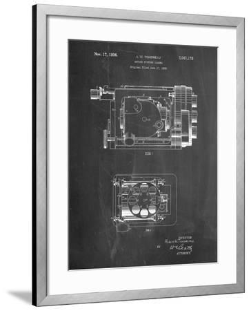 Motion Picture Camera 1932 Patent-Cole Borders-Framed Art Print