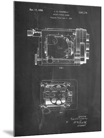 Motion Picture Camera 1932 Patent-Cole Borders-Mounted Art Print