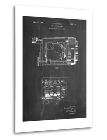 Motion Picture Camera 1932 Patent-Cole Borders-Metal Print