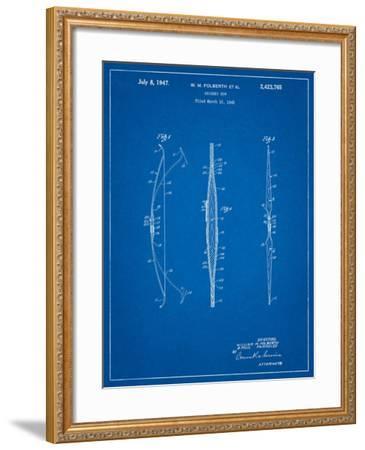 Bill Folberth Archery Bow Patent-Cole Borders-Framed Art Print