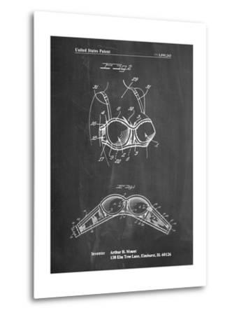 Push-Up Bra Patent-Cole Borders-Metal Print