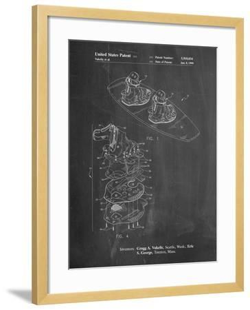 Wakeboard Patent-Cole Borders-Framed Art Print