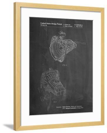 Movie Set Lighting-Cole Borders-Framed Art Print