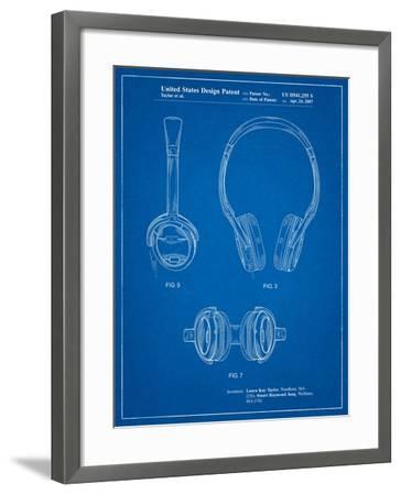 Noise Canceling Headphones Patent-Cole Borders-Framed Art Print