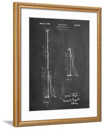 Night Stick Patent-Cole Borders-Framed Art Print