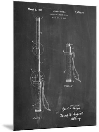 Night Stick Patent-Cole Borders-Mounted Art Print