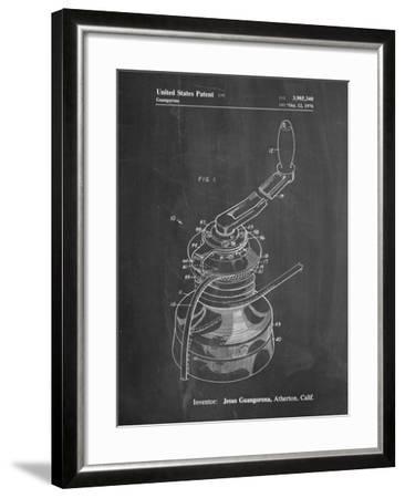 Sailboat Winch Patent-Cole Borders-Framed Art Print