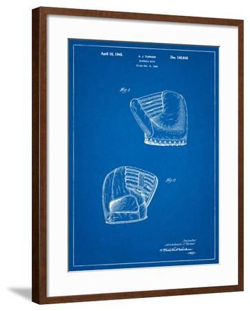 A.J. Turner Baseball Mitt Patent-Cole Borders-Framed Art Print