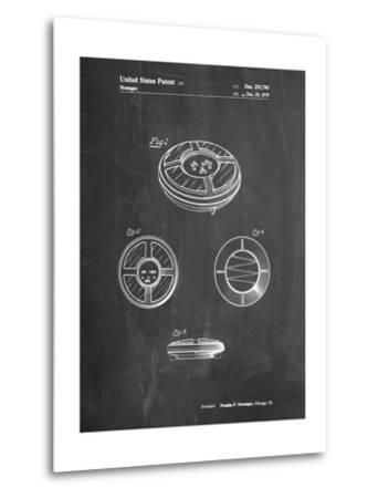 Simon Patent-Cole Borders-Metal Print
