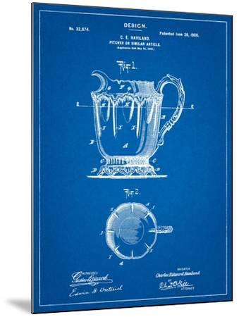 Kitchen Pitcher-Cole Borders-Mounted Art Print