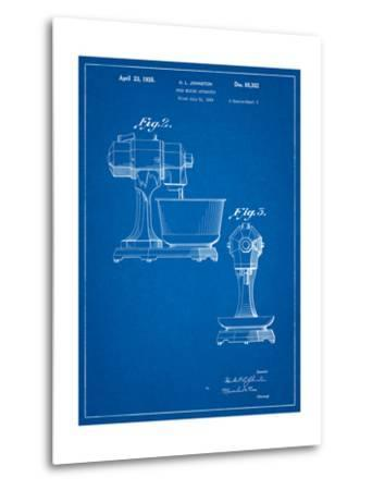 Kitchenaid Mixer Patent-Cole Borders-Metal Print