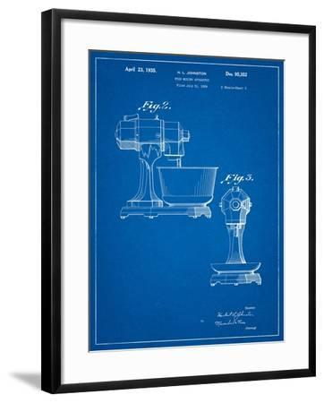 Kitchenaid Mixer Patent-Cole Borders-Framed Art Print