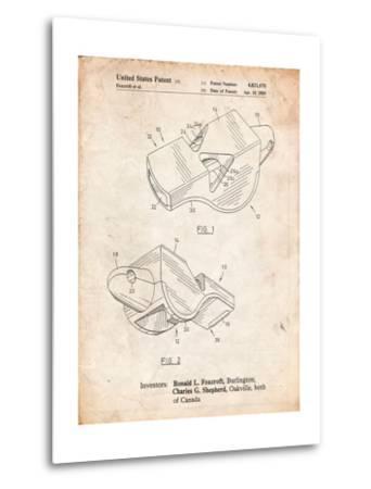 Fox 40 Coach's Whistle Patent-Cole Borders-Metal Print