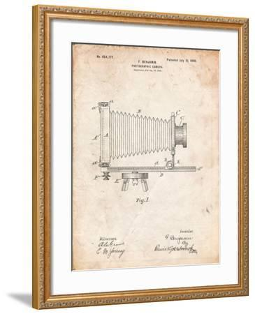 Photographic Camera Patent-Cole Borders-Framed Art Print