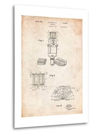 RCA Ribbon Microphone-Cole Borders-Metal Print