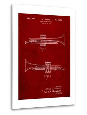York Trumpet 1939 Patent-Cole Borders-Metal Print