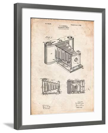 Kodak Pocket Folding Camera Patent-Cole Borders-Framed Art Print