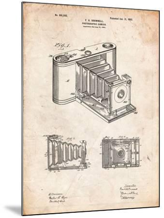 Kodak Pocket Folding Camera Patent-Cole Borders-Mounted Art Print