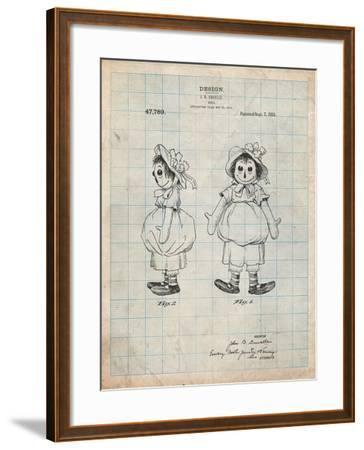 Rag Doll-Cole Borders-Framed Art Print