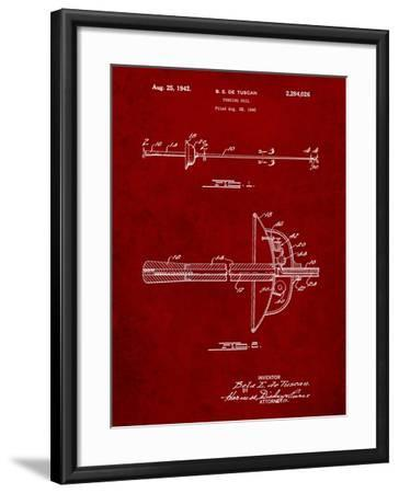 Fencing Sword Patent-Cole Borders-Framed Art Print