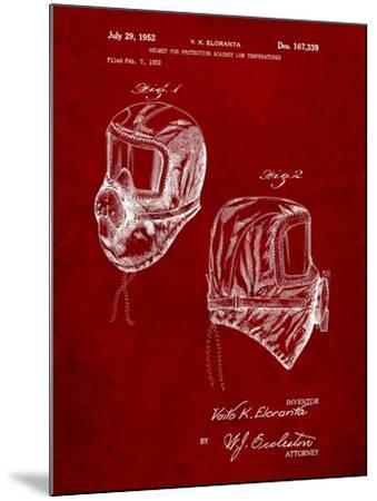 Sub Zero Mask Patent-Cole Borders-Mounted Art Print
