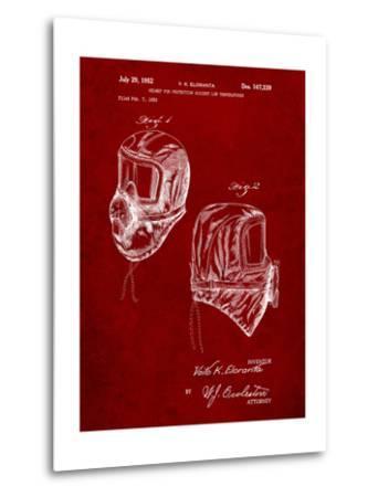 Sub Zero Mask Patent-Cole Borders-Metal Print
