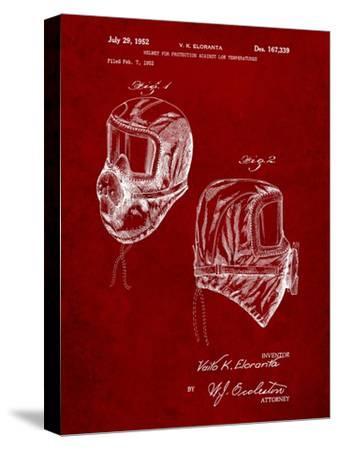 Sub Zero Mask Patent-Cole Borders-Stretched Canvas Print