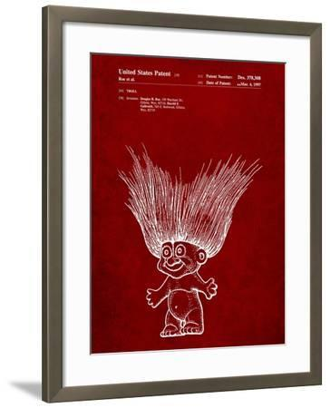 Troll Doll Patent-Cole Borders-Framed Art Print