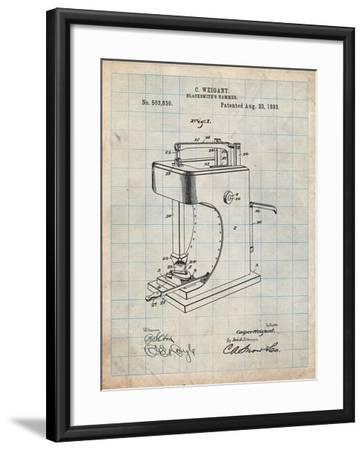 Blacksmith Hammer 1893 Patent-Cole Borders-Framed Art Print