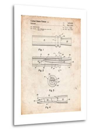 Duck Commander Duck Call Patent, Phil Robertson, Inventor-Cole Borders-Metal Print