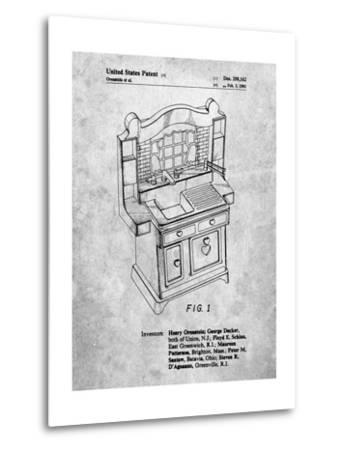 Kids Kitchen-Cole Borders-Metal Print
