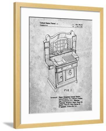 Kids Kitchen-Cole Borders-Framed Art Print