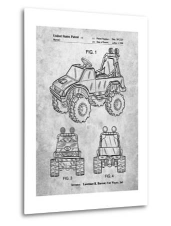 Kids Truck-Cole Borders-Metal Print