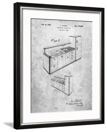 Kitchen Cabinets-Cole Borders-Framed Art Print