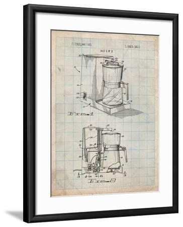 Coffee Maker Patent-Cole Borders-Framed Art Print